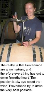 About Provenance Wines