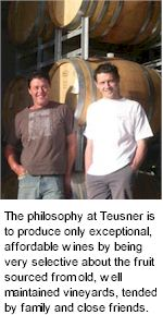 About Teusner Wines