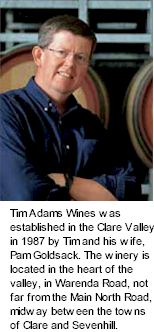 More on the Tim Adams Winery