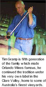More on the Tim Gramp Winery