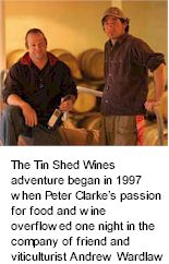 About the Tin Shed Winery