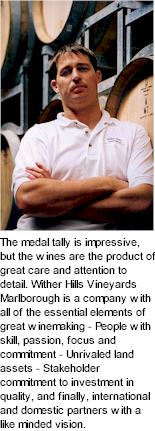 About the Wither Hills Winery